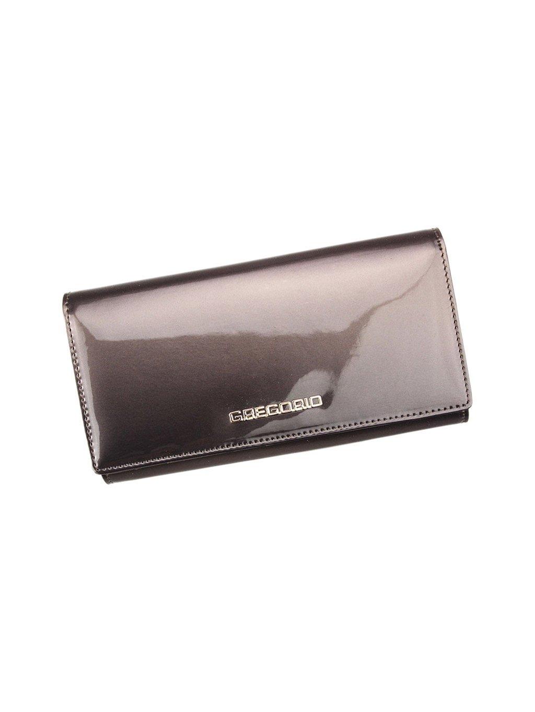 Dámská kožená peněženka Gregorio SH-114 šedá