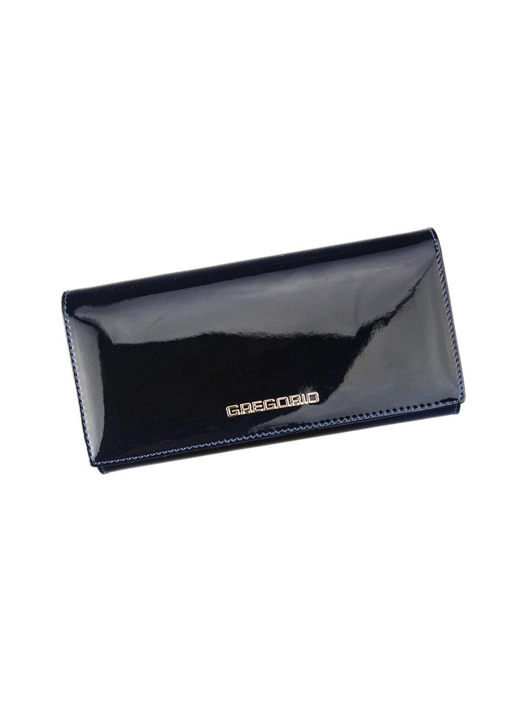 Dámská kožená peněženka Gregorio SH-106 modrá