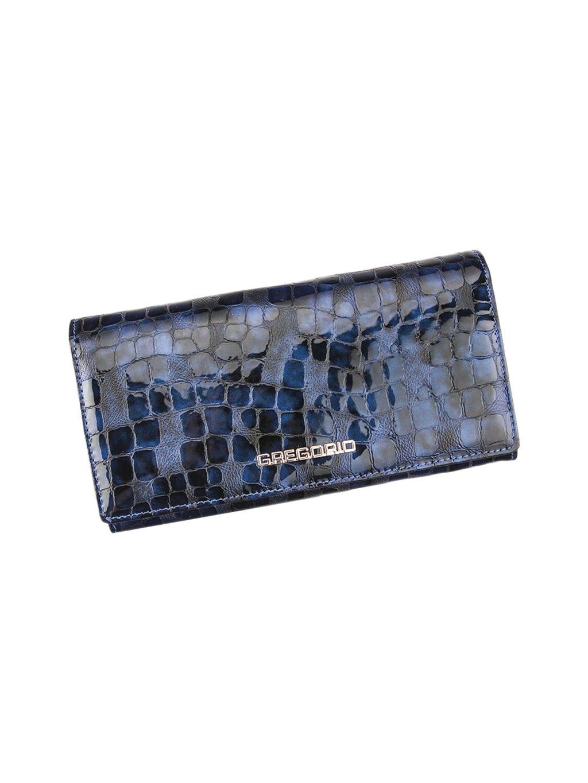 Dámská kožená peněženka Gregorio FS-100 modrá