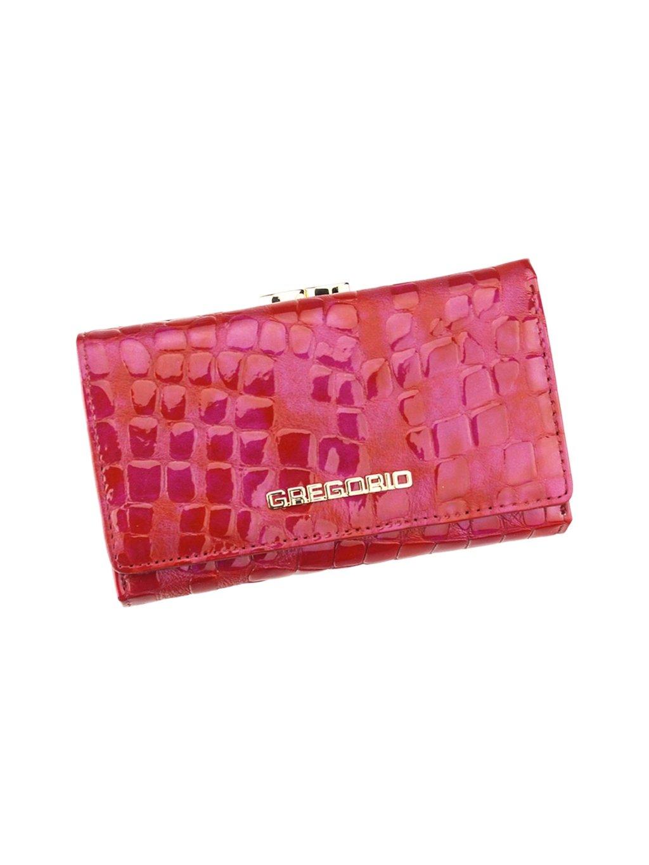 Dámská kožená peněženka Gregorio FS-108 červená