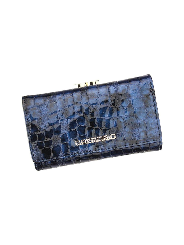 Dámská kožená peněženka Gregorio FS-108 modrá