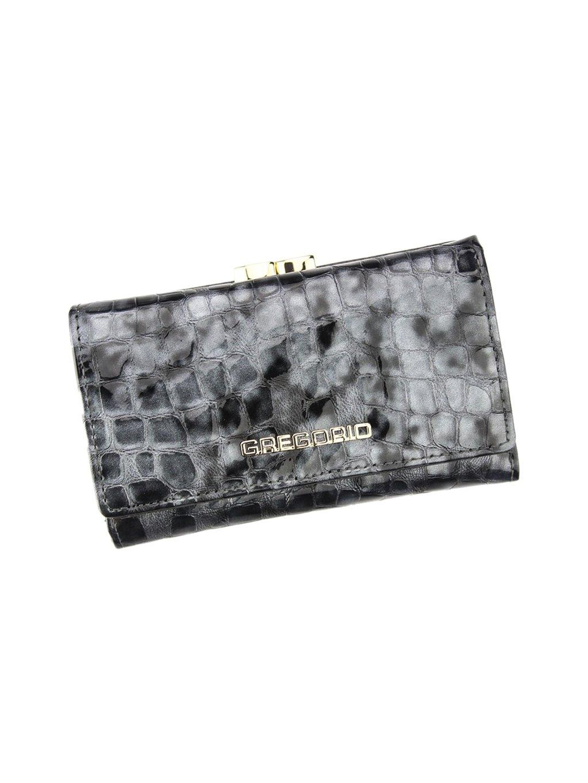 Dámská kožená peněženka Gregorio FS-108 šedá