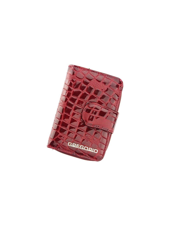 Dámská kožená peněženka Gregorio FS-115 vínová