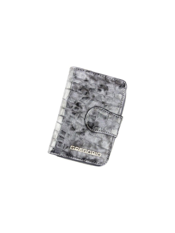 Dámská kožená peněženka Gregorio FS-115 šedá
