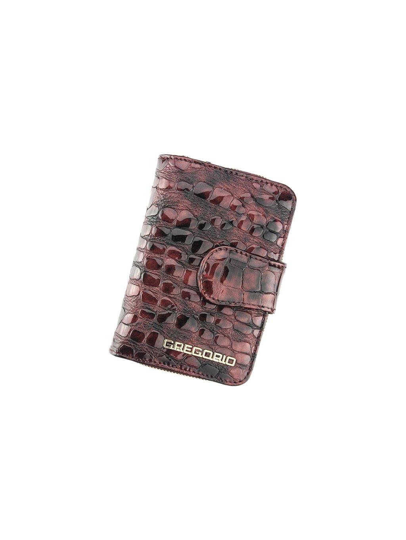 Dámská kožená peněženka Gregorio FS-115 světle fialová
