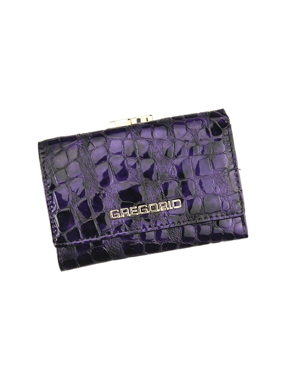 Dámská kožená peněženka Gregorio FS - 117 fialová