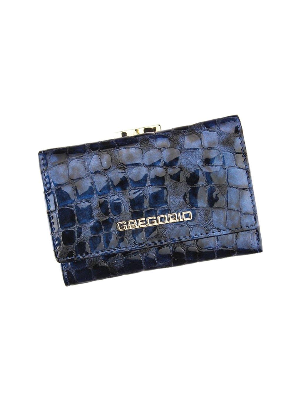 Dámská kožená peněženka Gregorio FS - 117 modrá
