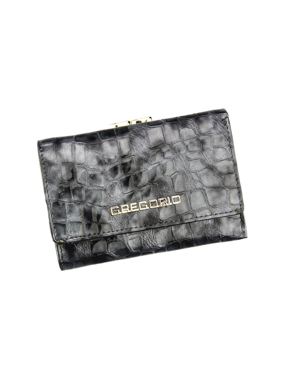 Dámská kožená peněženka Gregorio FS - 117 šedá