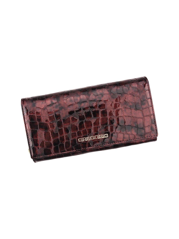 Dámská kožená peněženka Gregorio FS-102 světle fialová