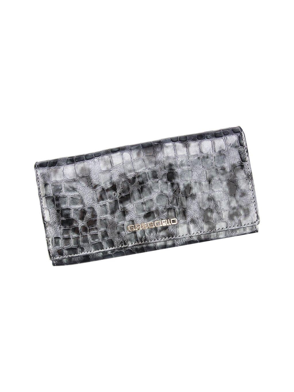 Dámská kožená peněženka Gregorio FS-106 šedá