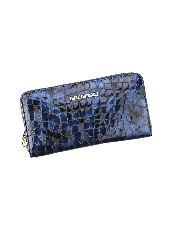 Dámská kožená peněženka Gregorio FS-119 modrá