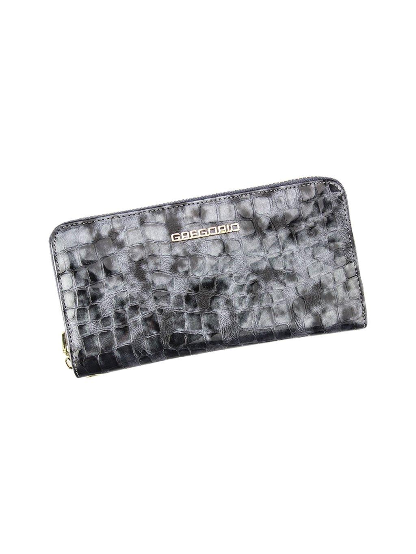 Dámská kožená peněženka Gregorio FS-119 šedá