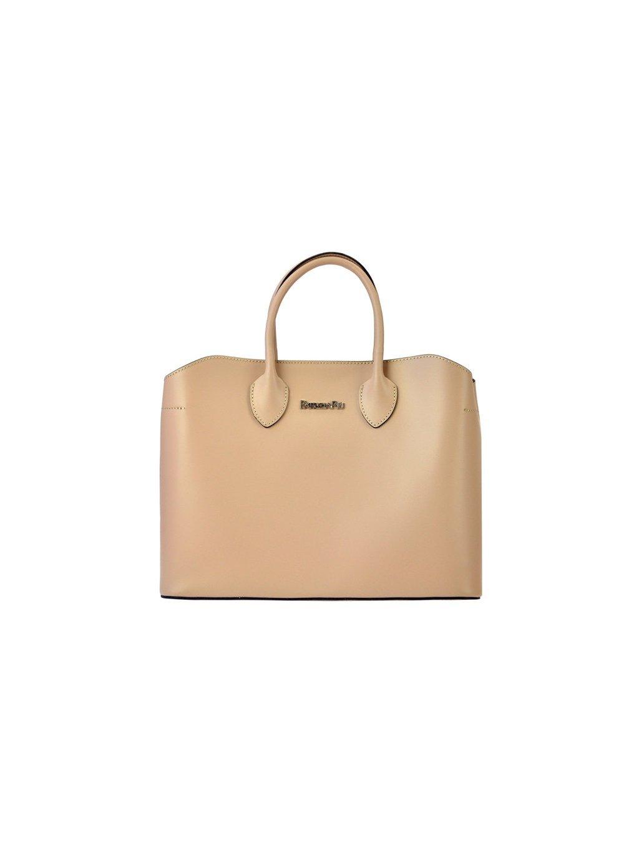 Dámská kožená kufříková kabelka Patrizia Piu 01-033 růžová