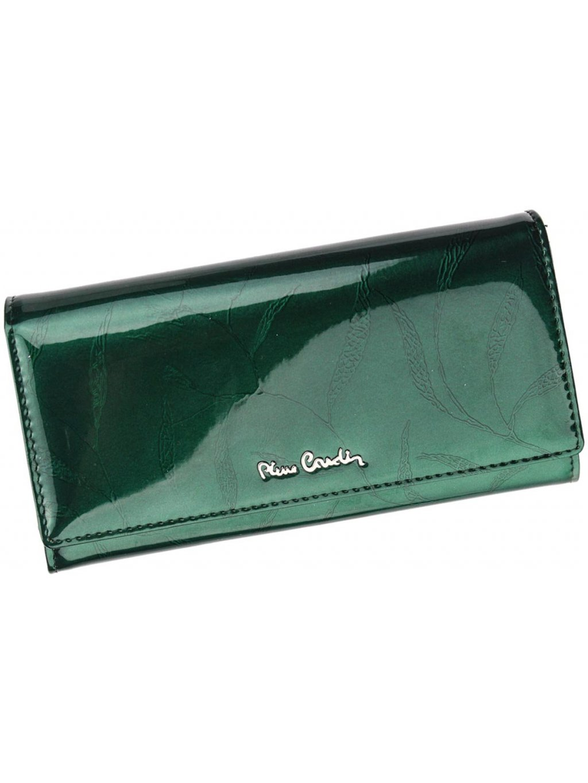 Dámská kožená peněženka Pierre Cardin 02 LEAF 106 zelená