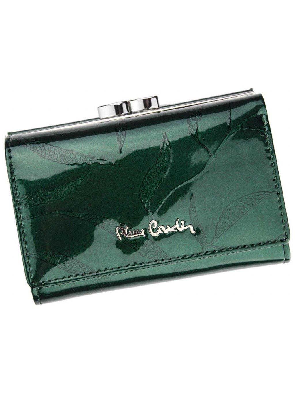 Dámská kožená peněženka Pierre Cardin 02 LEAF 108 zelená