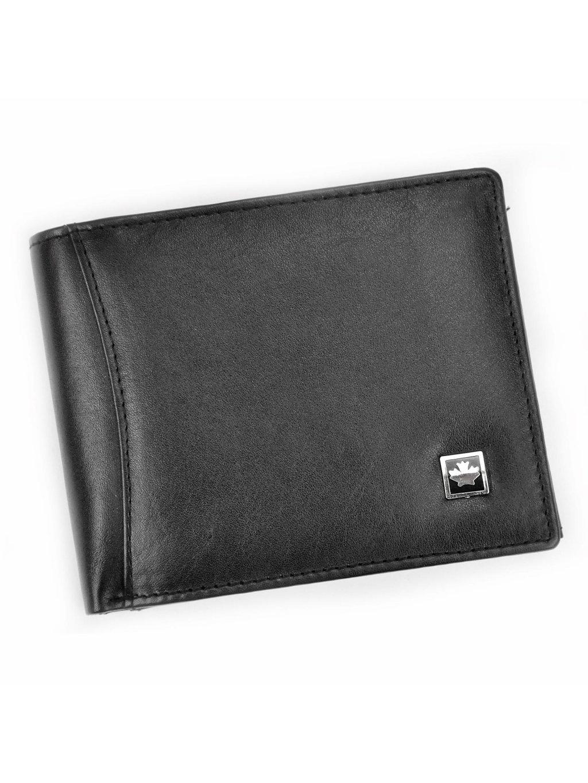 Pánská kožená peněženka Money Kepper SO-03 černá