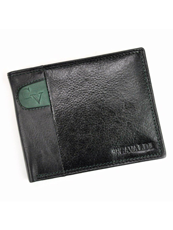 Pánská kožená peněženka Cavaldi N992-SCV zelená