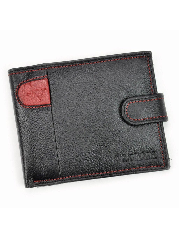 Pánská kožená peněženka Cavaldi N992L-SCV červená