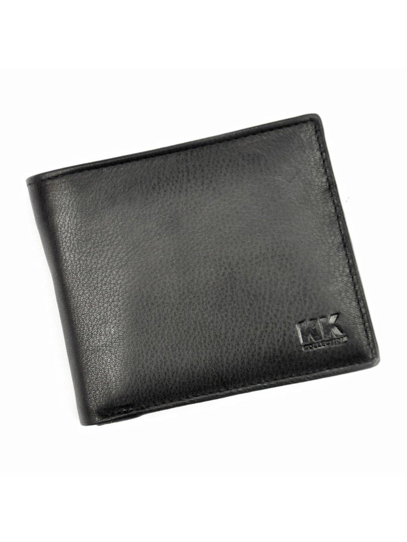Pánská kožená peněženka Money Kepper KK 30 černá