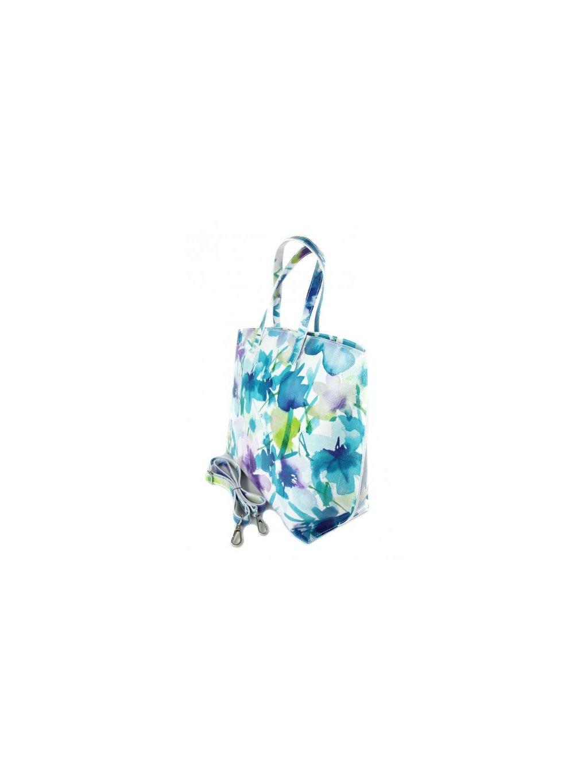 Dámská kožená kufříková kabelka Vera Pelle M03 L vzor 2