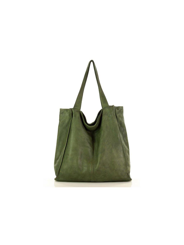 41598 kozena kabelka pres rameno mazzini m102 zelena