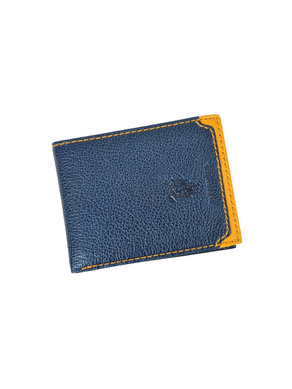 Pánská kožená peněženka Harvey Miller Polo Club 5031 250/E modrá