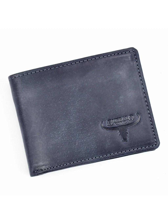 Pánská kožená peněženka N1190-HP modrá