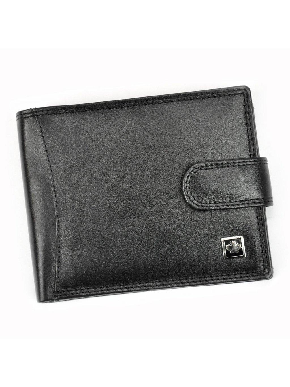 Pánská kožená peněženka Money Kepper SO-04 černá