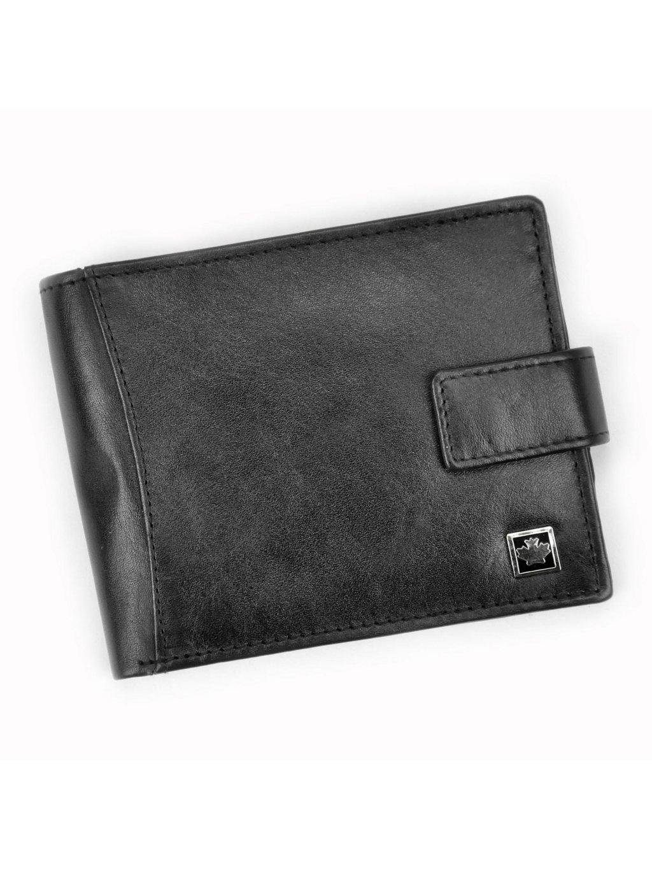 Pánská kožená peněženka Money Kepper SO-14 černá