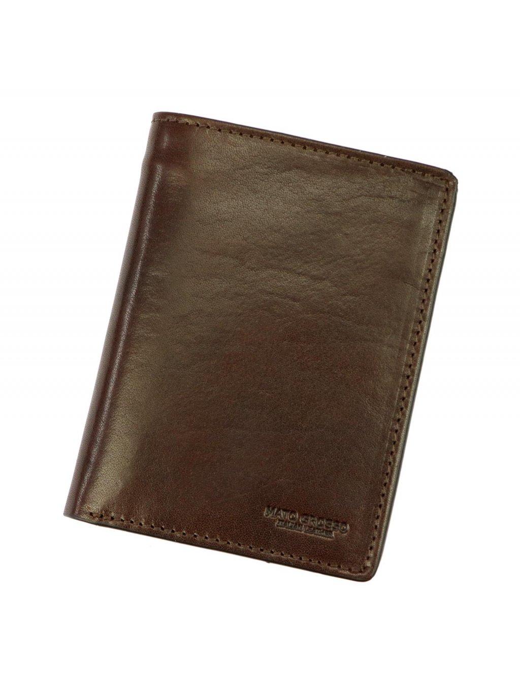 Pánská kožená peněženka Mato Grosso 0705/17-25 RFID hnědá