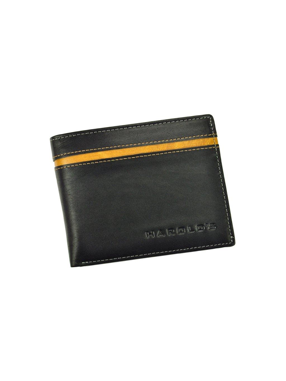 Pánská kožená peněženka Harolds 5544 černá