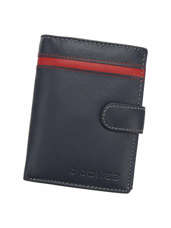 Pánská kožená peněženka Jennifer Jones 5545 RFID modrá