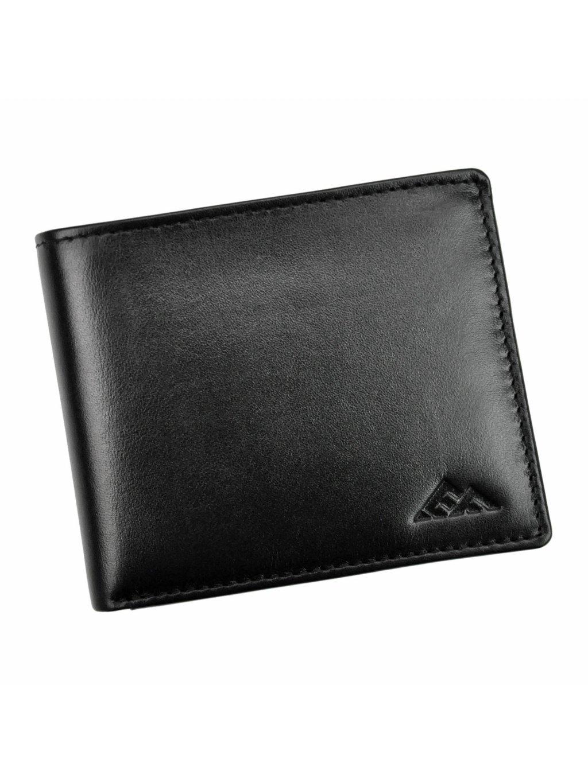 Pánská kožená peněženka EL FORREST 548/A-67 RFID černá