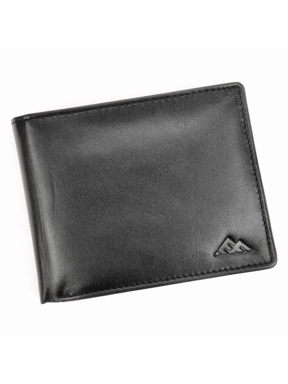 Pánská kožená peněženka EL FORREST 545/A-67 RFID černá