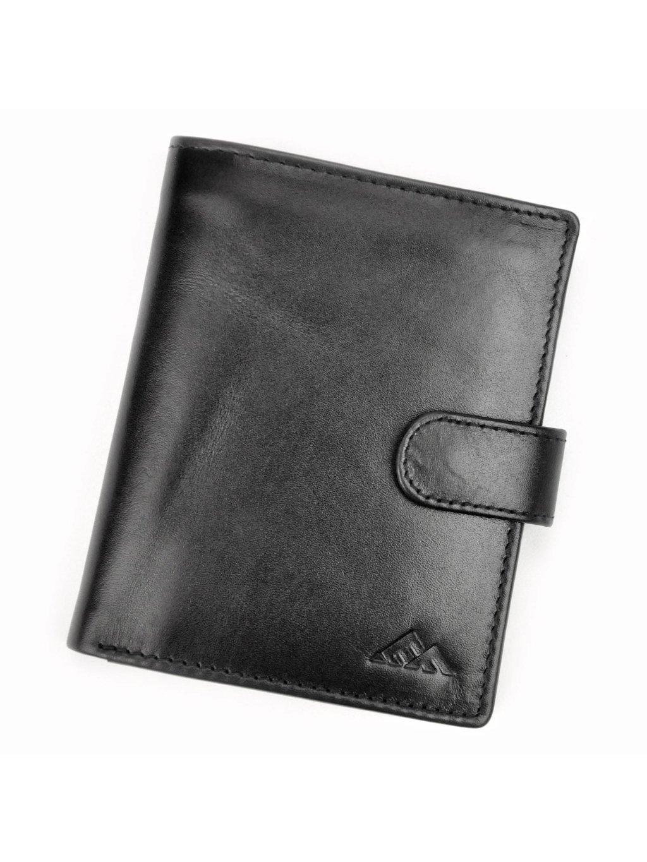 Pánská kožená peněženka EL FORREST 547-67 RFID černá