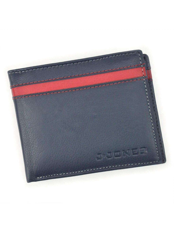 Pánská kožená peněženka Harolds 5544 RFID modrá