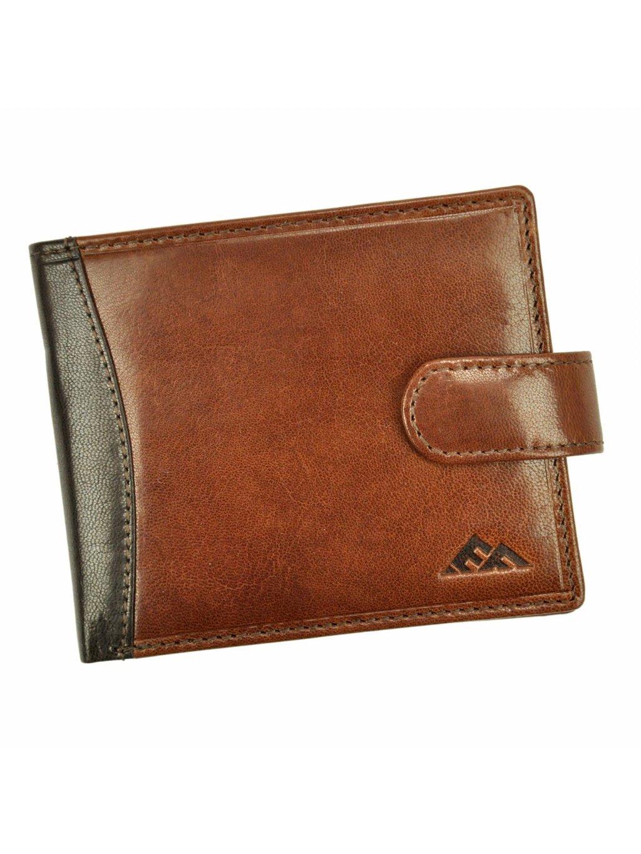 Pánská kožená peněženka EL FORREST 573-21 RFID hnědá