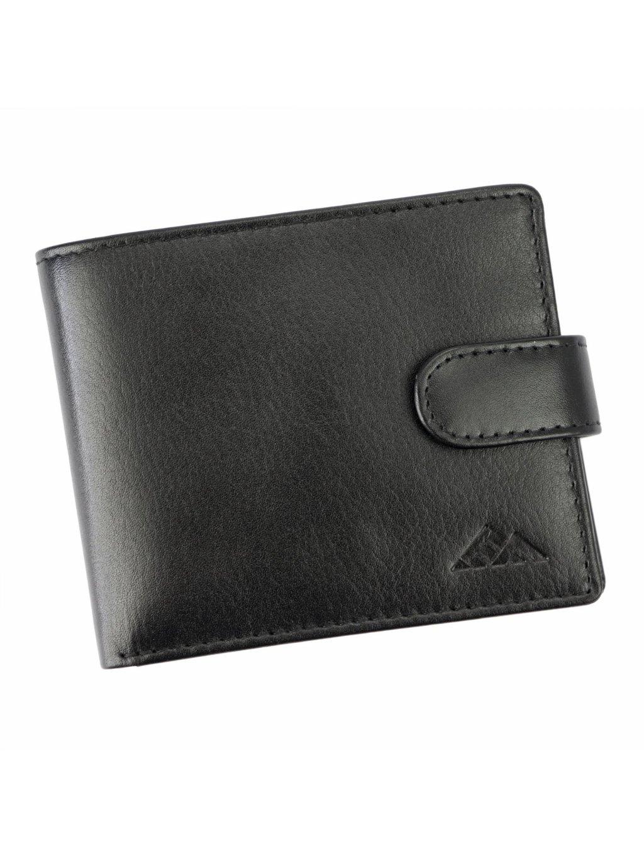 Pánská kožená peněženka EL FORREST 548-67 RFID černá