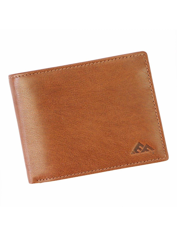 Pánská kožená peněženka EL FORREST 571-26 RFID hnědá
