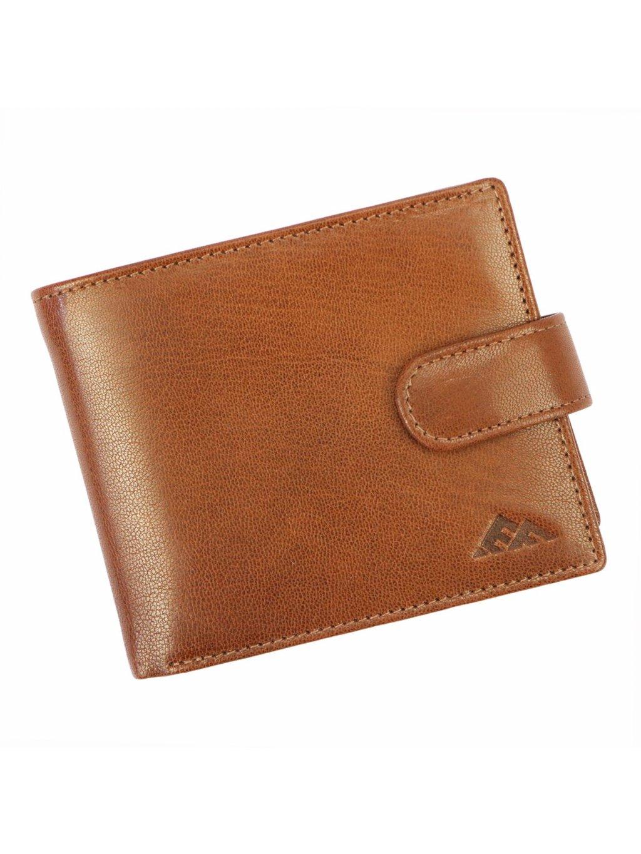 Pánská kožená peněženka EL FORREST 573-26 RFID hnědá