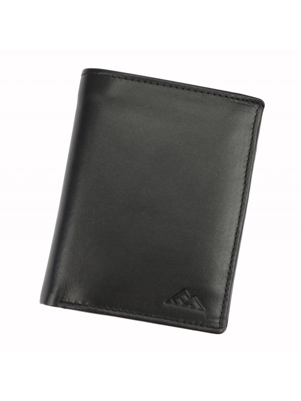 Pánská kožená peněženka EL FORREST 554-67 RFID černá