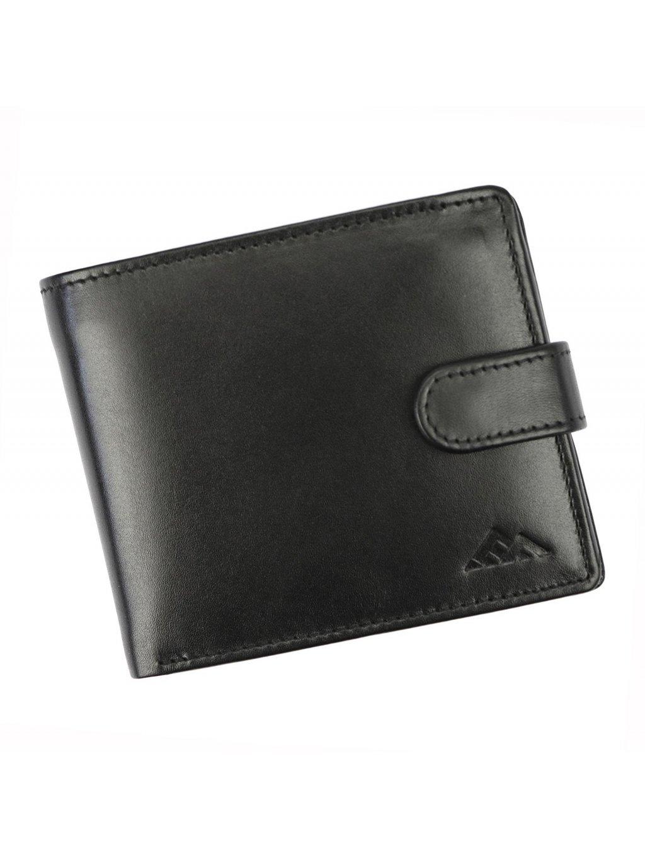 Pánská kožená peněženka EL FORREST 556-67 RFID černá