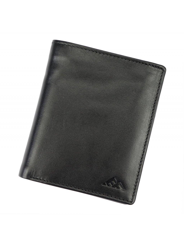 Pánská kožená peněženka EL FORREST 552-67 RFID černá