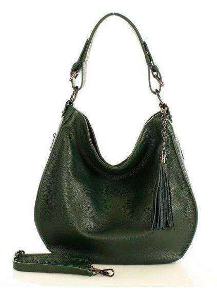 32847 kozena kabelka pres rameno mazzini m22m6 zelena