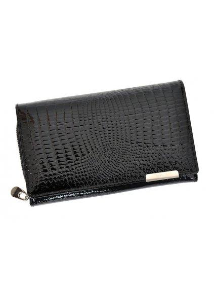 Dámská kožená peněženka Jennifer Jones 5261 černá