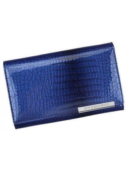 Dámská kožená peněženka Gregorio GF101 modrá