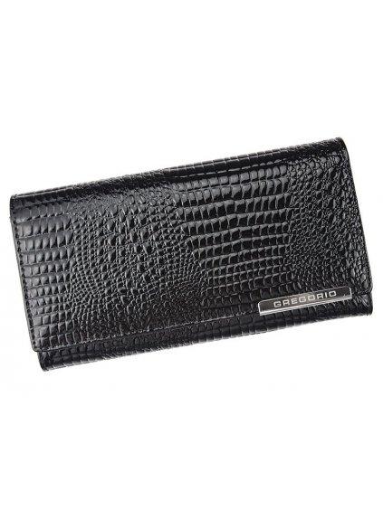 Dámská kožená peněženka Gregorio GF-106 černá