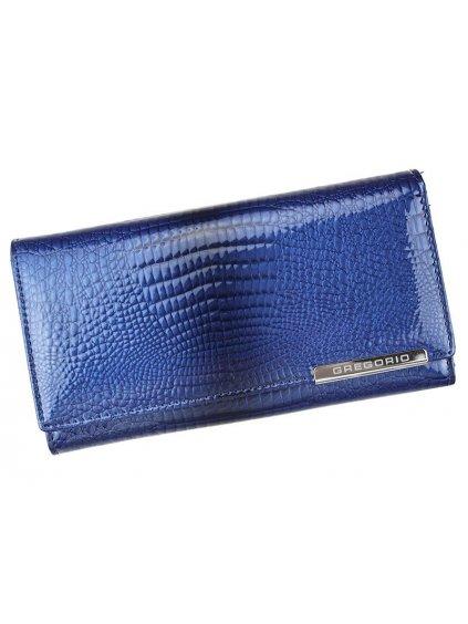 Dámská kožená peněženka Gregorio GF-106 modrá