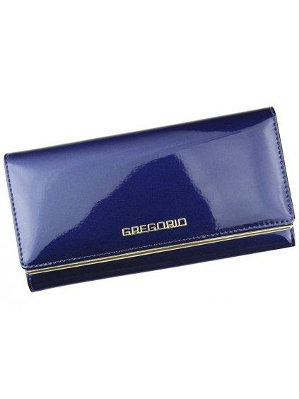 Dámská kožená peněženka Gregorio ZLL-100 modrá