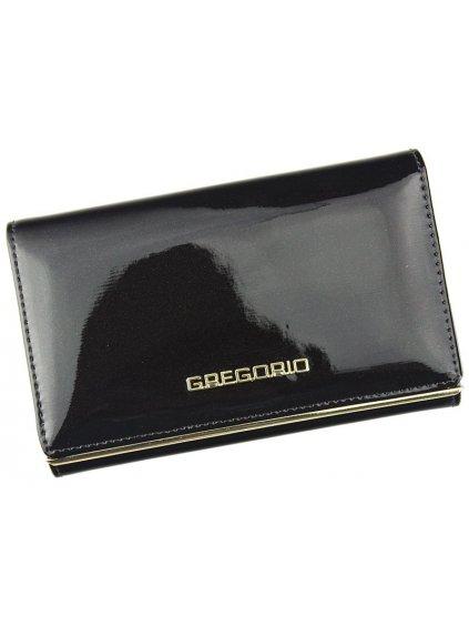 Dámská kožená peněženka Gregorio ZLL-112 tmavě hnědá